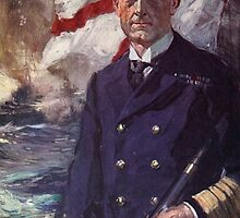 Admiral Sir John Jellicoe by Bridgeman Art Library