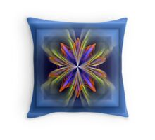 Flower in a box Throw Pillow