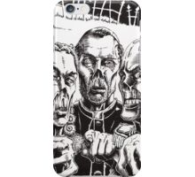The Graveyard Book, 'The Ghouls' - ink iPhone Case/Skin