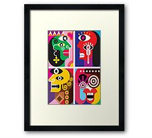 Abstracto 2 Framed Print