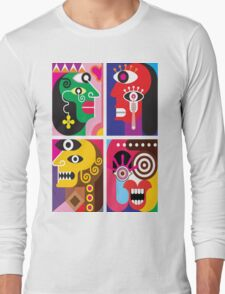 Abstracto 2 Long Sleeve T-Shirt
