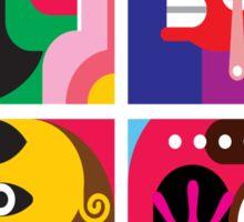 Abstracto 2 Sticker