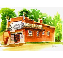 AV Art Studio in Watercolor Photographic Print