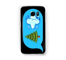 Blowing Trees Samsung Galaxy Case/Skin