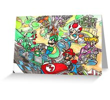 Super Mario Kart 8 Greeting Card