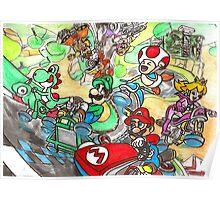 Super Mario Kart 8 Poster
