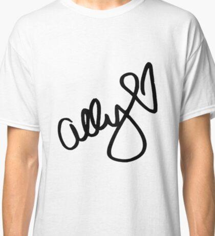 Ally Brooke signature - Black text ( New ) Classic T-Shirt
