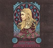Rose Tyler art nouveau by koroa
