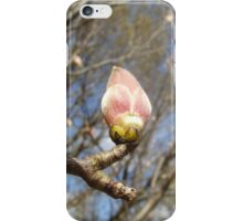 Budding plant iPhone Case/Skin