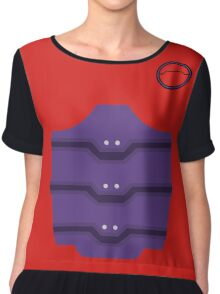 Baymax Suited Up Chiffon Top