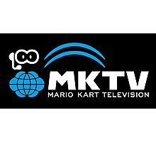 Mario Kart TV (White) Photographic Print