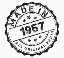 MADE IN 1957 ALL ORIGINAL PARTS by smrdesign