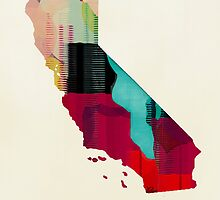 California state map by bri-b