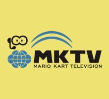 Mario Kart TV (Black) Kids Clothes