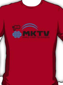 Mario Kart TV (Black) T-Shirt
