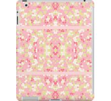 Sweet Pastel Pink Green Abstract Pretty Mosaic iPad Case/Skin