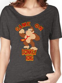 Game On Donkey Kong Women's Relaxed Fit T-Shirt