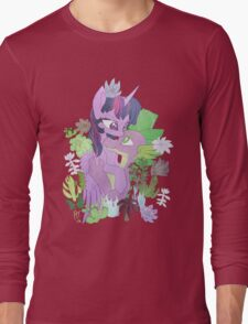 Twilight, Spike and Succulents Long Sleeve T-Shirt