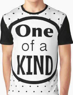 One of a Kind Graphic T-Shirt