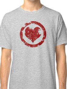 Grunge Heart Classic T-Shirt