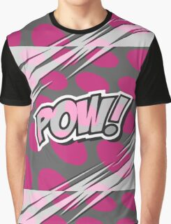 Pow! by American Jank Brand, Pop Art Revival Graphic T-Shirt