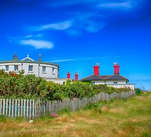 Dungeness Lighthouse Quarters by Chris Thaxter
