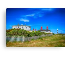 Dungeness Lighthouse Quarters Canvas Print