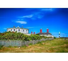 Dungeness Lighthouse Quarters Photographic Print