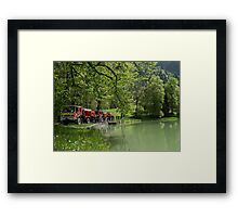 Le Pompier Framed Print