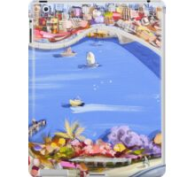 Across the blue iPad Case/Skin