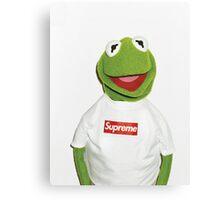 Kermit Supreme / Supreme Logo ( Kermit ) Canvas Print