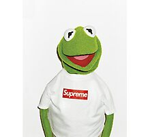 Kermit Supreme / Supreme Logo ( Kermit ) Photographic Print