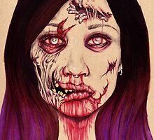 Self Portrait by Alyssa Ecarma
