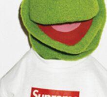 Kermit Supreme / Supreme Logo ( Kermit ) Sticker