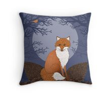 Fantastical Mr Fox Throw Pillow