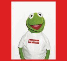 Kermit Supreme / Supreme Logo ( Kermit ) One Piece - Short Sleeve