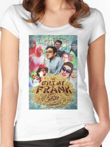 Filthy Frank - King of Filth (Clean) Women's Fitted Scoop T-Shirt
