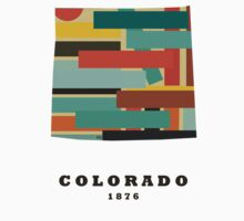 Colorado state map Kids Clothes