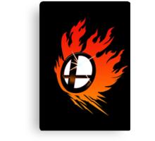 Smash Bros Emblem Red Canvas Print