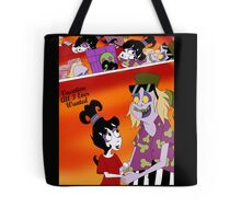 Vacation Beetlejuice and Lydia Tote Bag