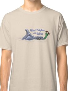 Giant Dolphin With Rabies Classic T-Shirt