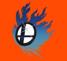 Smash Bros Emblem Blue Kids Clothes