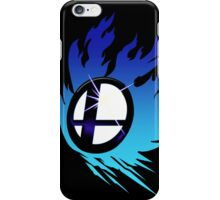 Smash Bros Emblem Blue iPhone Case/Skin