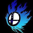 Smash Bros Emblem Blue by Bendragon