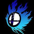 Smash Bros Emblem Blue by Bendragon