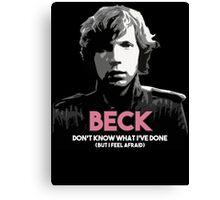 Beck - Modern Guilt Canvas Print