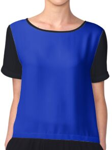 Resolution Blue  Chiffon Top