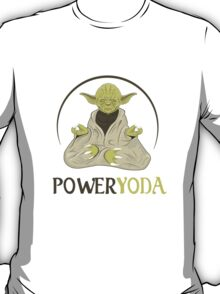 Power Yoda T-Shirt