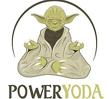 Power Yoda by Delinquent21