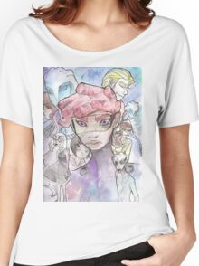 Galactic Embassy: Earth Division, promo style Women's Relaxed Fit T-Shirt